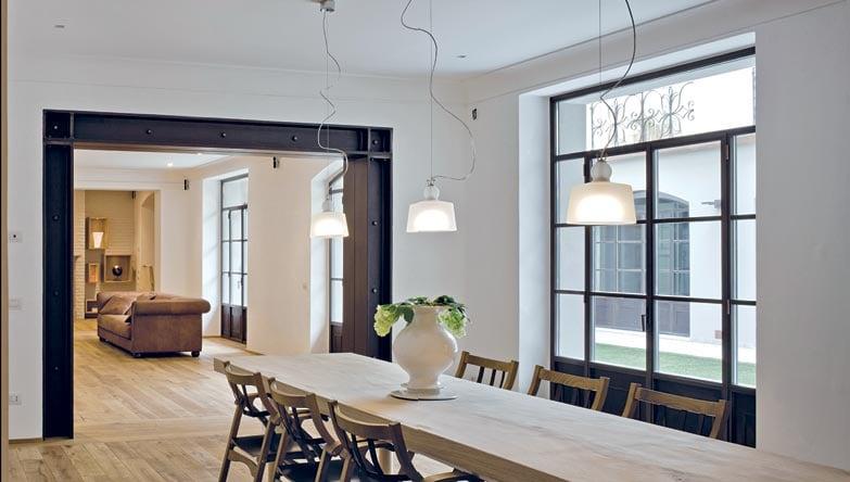 La casa nel patio interni magazine for Case realizzate da architetti
