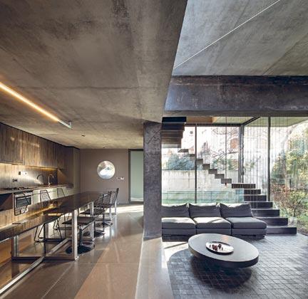Architettura nuda interni magazine - Scale in cemento per interni ...