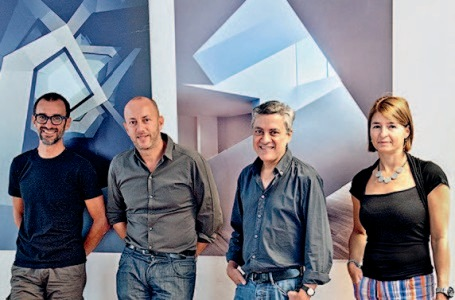 Francesco Fresa, Germán Fuenmayor, Gino Garbellini and Monica Tricario ph. Enrico Basili