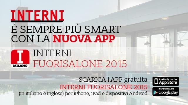 App fuorisalone 2015 interni sempre pi smart for App design interni