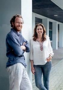 Bart van Heesch and Emilie Kröner