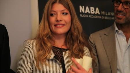La vincitrice, Simona Lacagnina con Andrea Castrignano