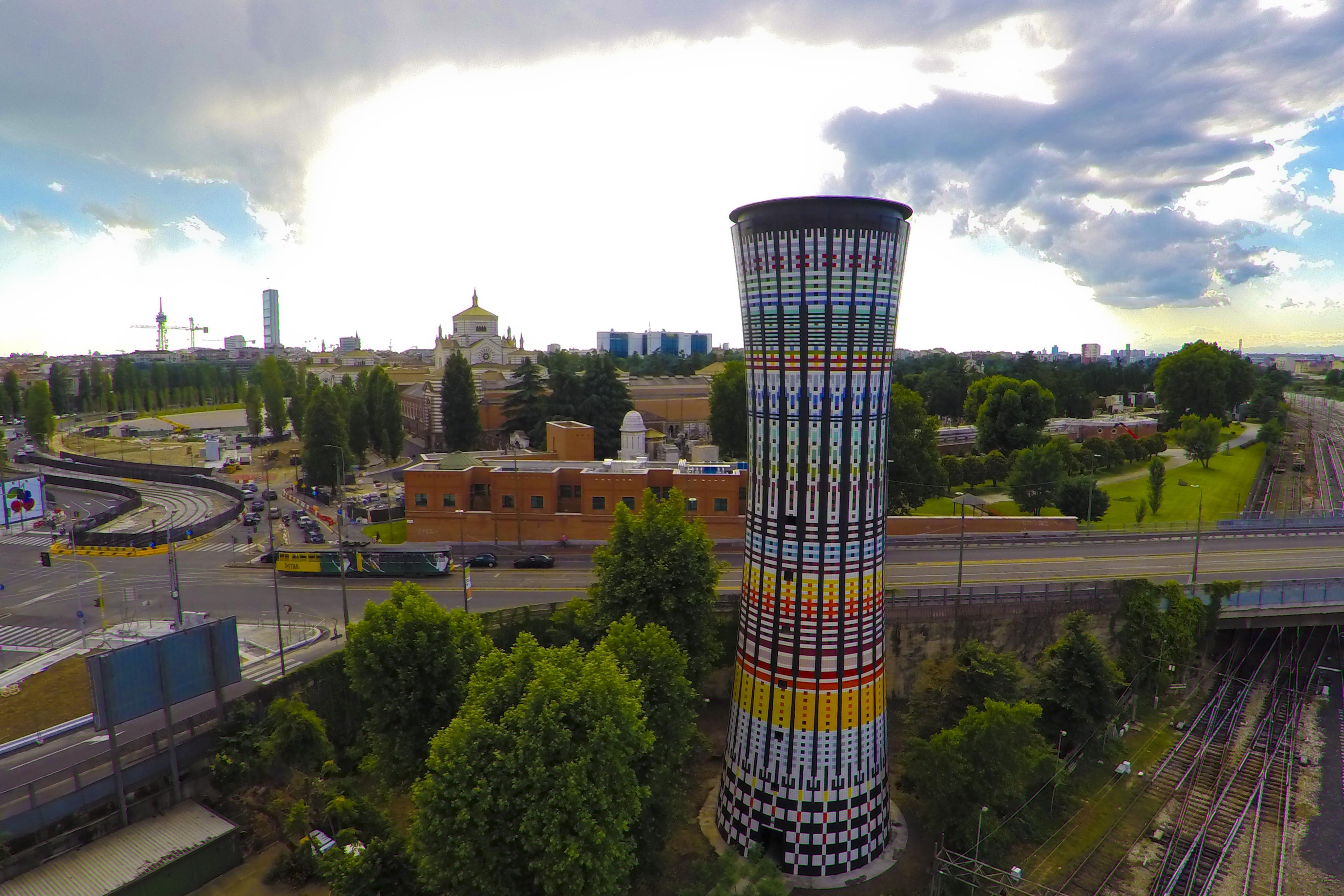 Conclusa la ristrutturazione della Torre Arcobaleno