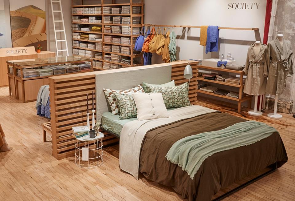 Nuovo Spazio per lo shop in shop Society Limonta da Abc a New York