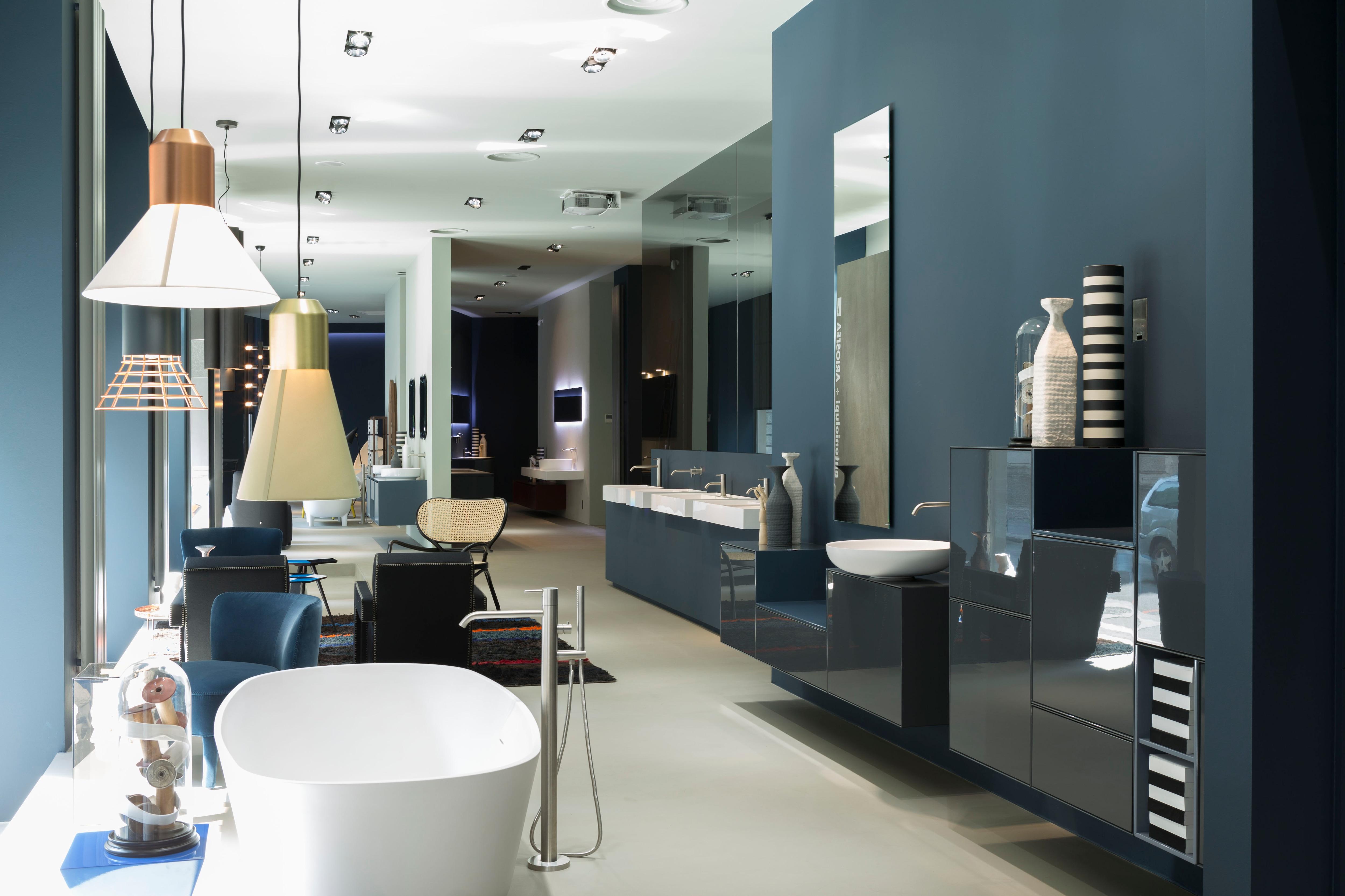 Restyling dello spazio milanese di antoniolupi – Interni Magazine