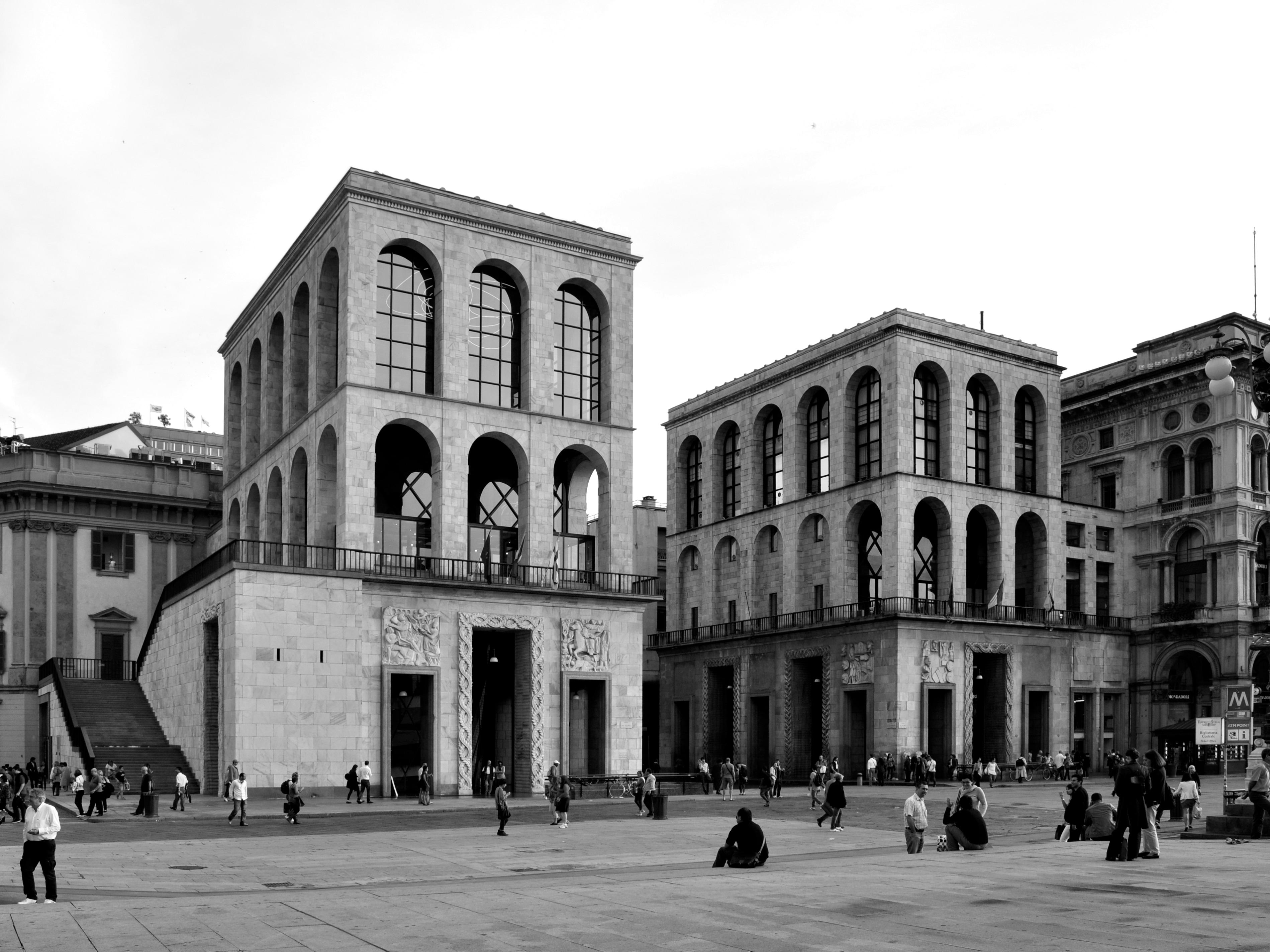 Itinerari di architettura milanese interni magazine for Programma di architettura