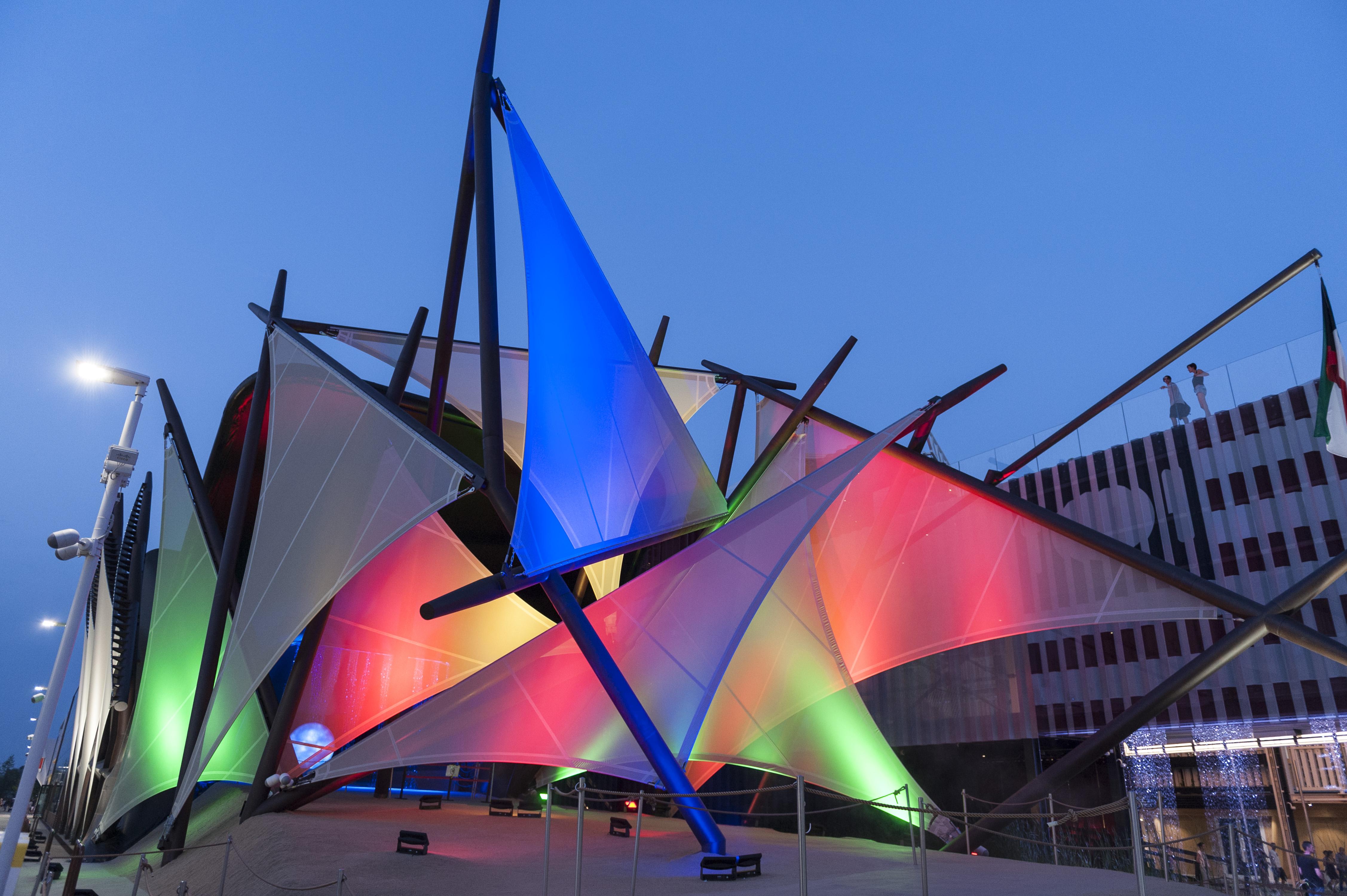 La dimensione etica di expo nel progetto di piuarch per il for Piani di progettazione del padiglione