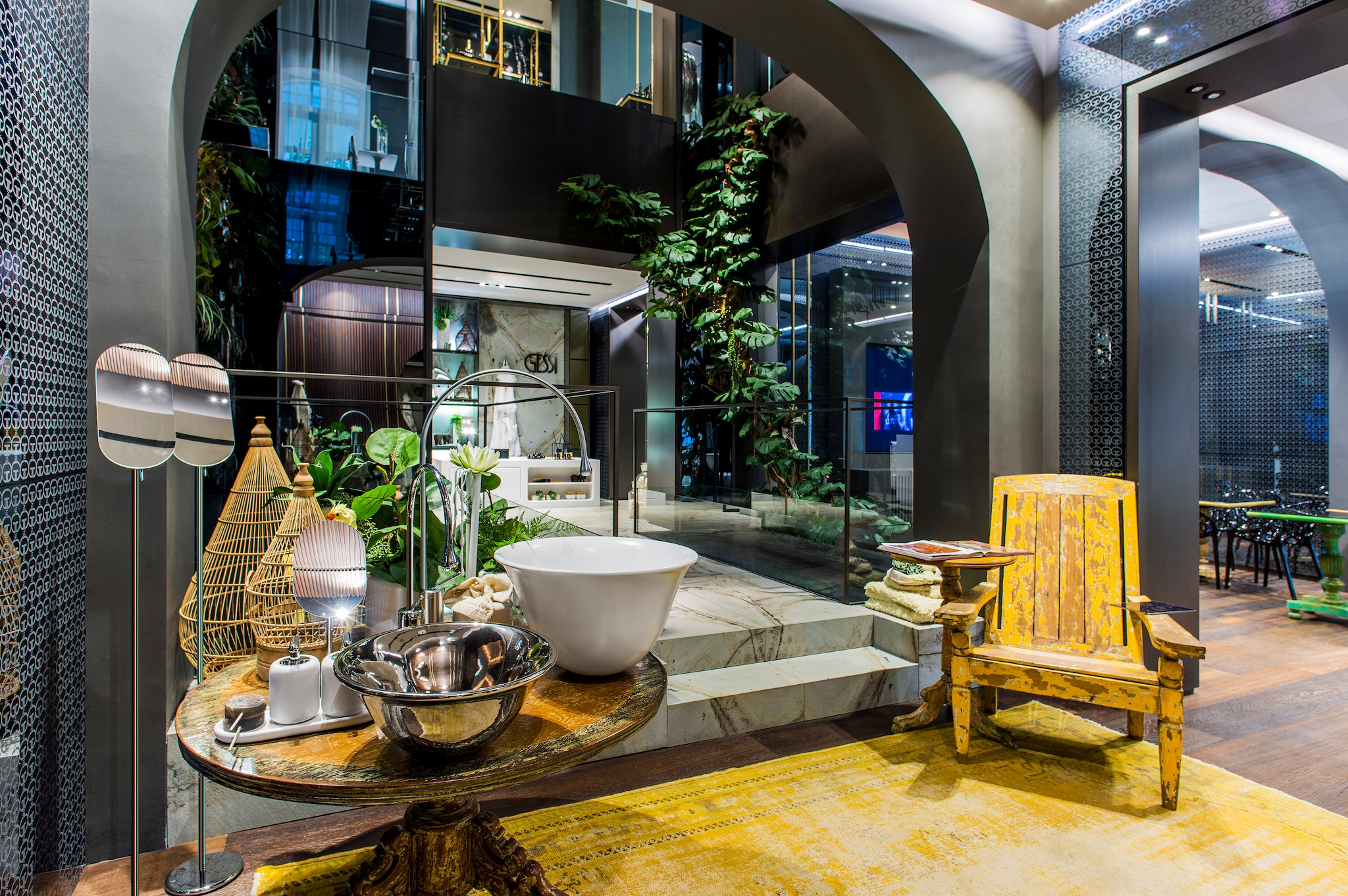 Casa gessi a singapore interni magazine for Piani di casa in stile west indian