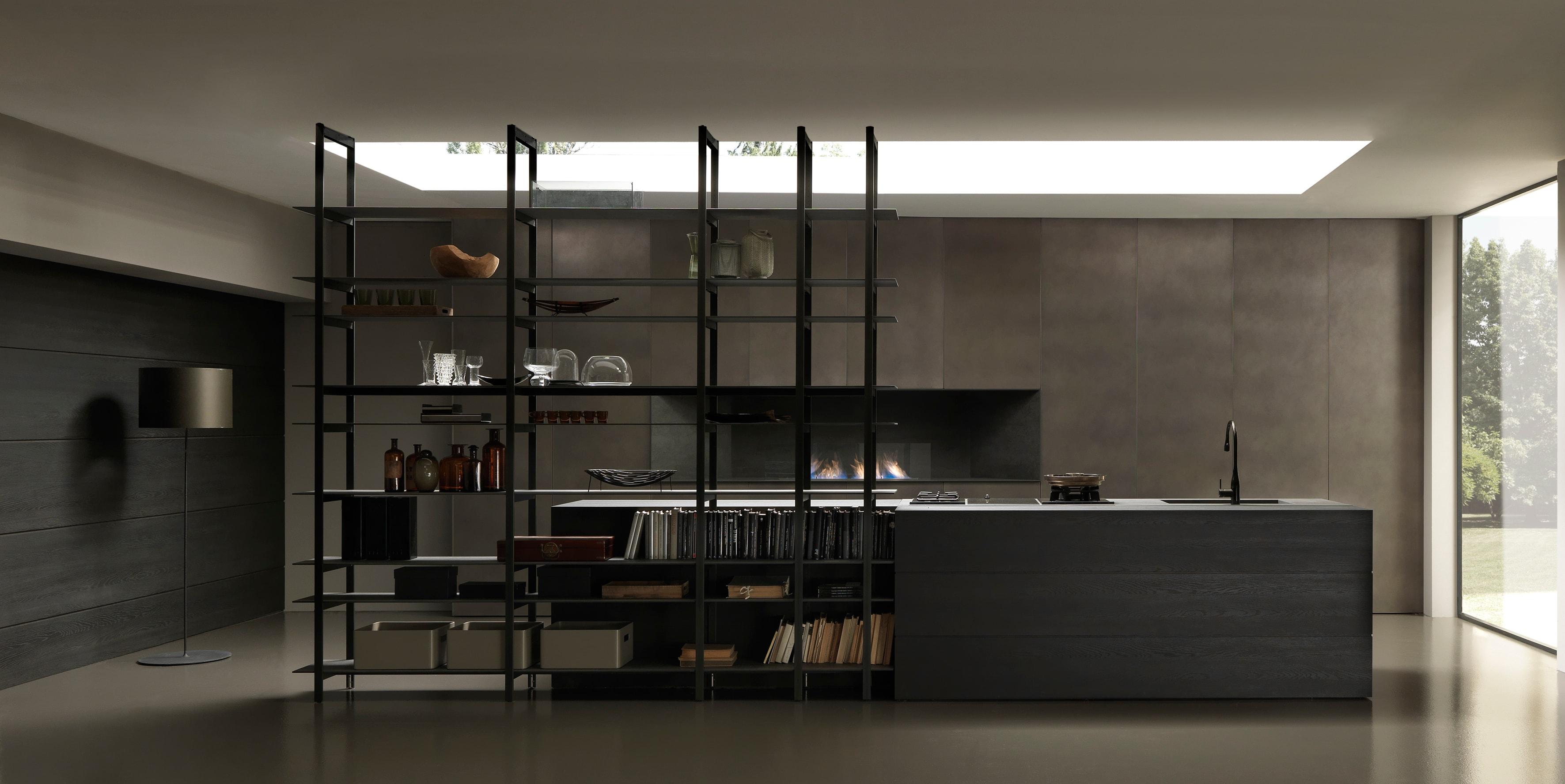 La rivoluzione progettuale in cucina interni magazine - Cucine in ferro ...