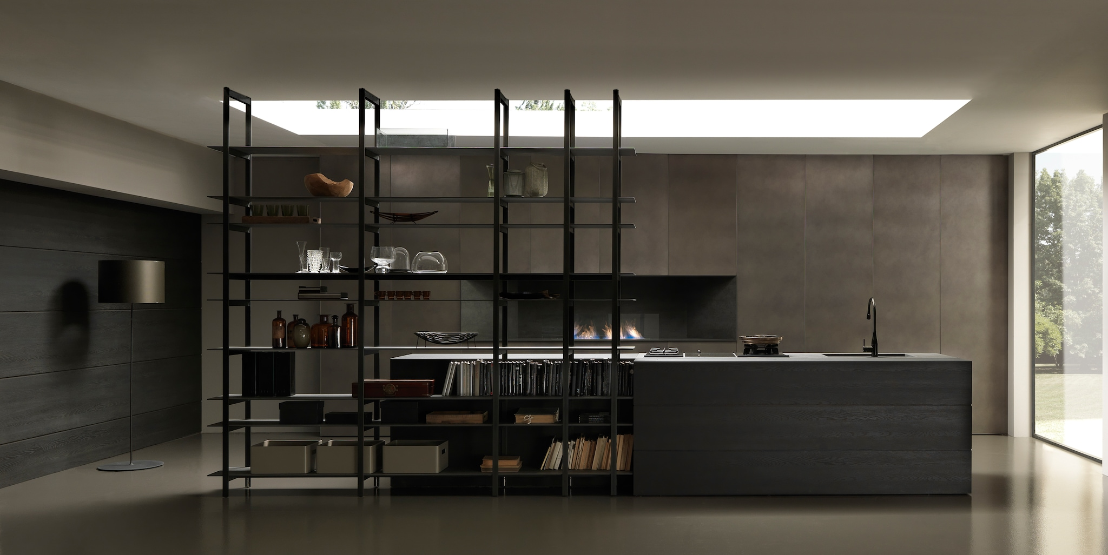 La rivoluzione progettuale in cucina interni magazine for Libreria in ferro