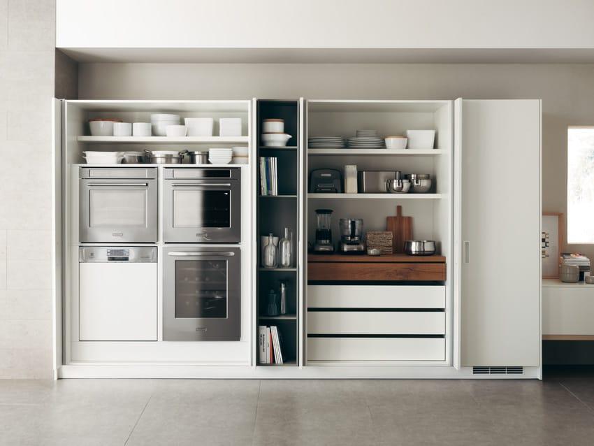Armadi Con Ante A Scomparsa Switch Del Programma Foodshelf Di Scavolini,  Design Ora ïto, Perfetta Sintesi Tra Estetica Essenziale E Funzionalità.
