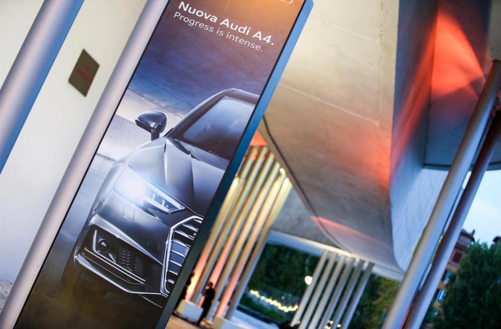 La nuova Audi A4 tra arte e cultura