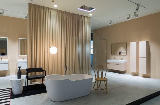 Il nuovo showroom Antoniolupi a Stabbia