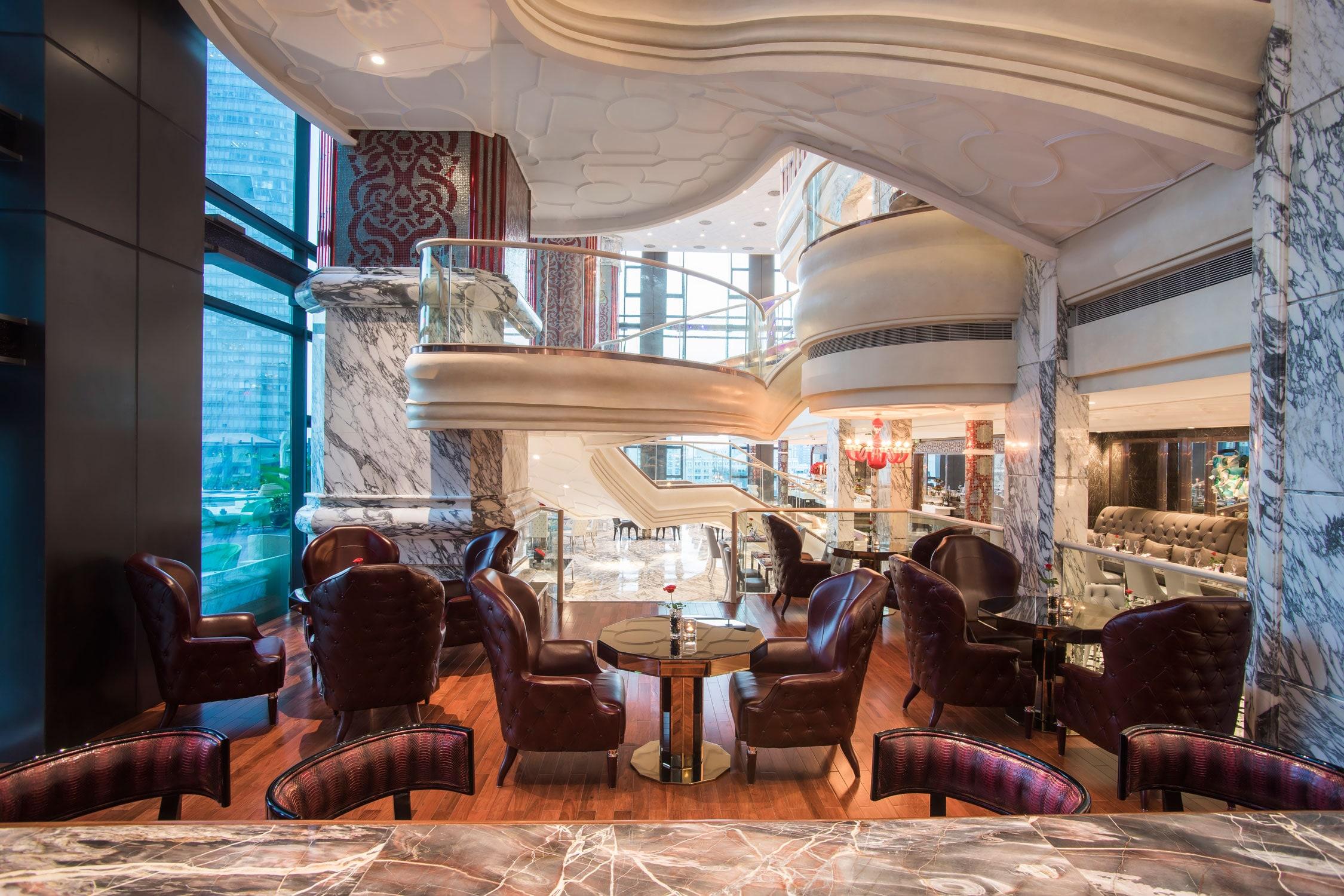 Visionnaire per il The Reverie Saigon Hotel a Ho Chi Minh City