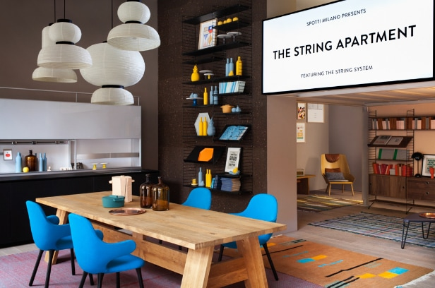 The String Apartment