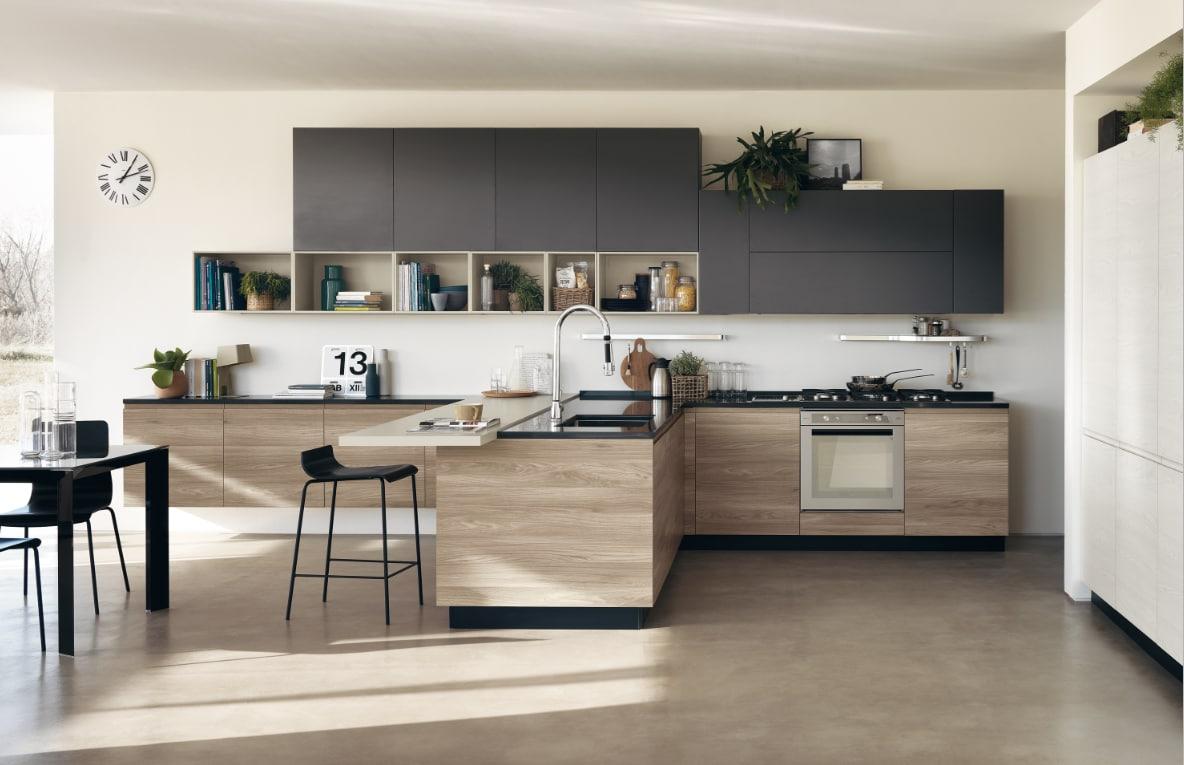 Cucine Moderne Bianche E Nere. Best Awesome Cucine Bianche E Nere ...