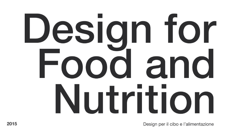 Design for Food and Nutrition: i vincitori dell'ADI Compasso d'Oro International Award 2015