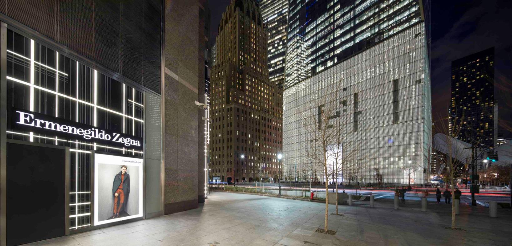 Ermenegildo Zegna a Brookfield Place, New York