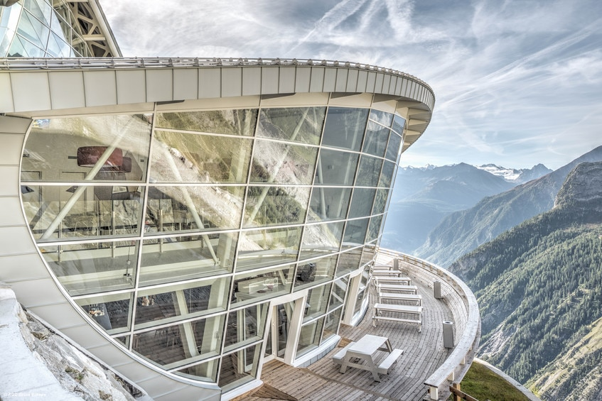 I vetri AGC per Skyway Monte Bianco