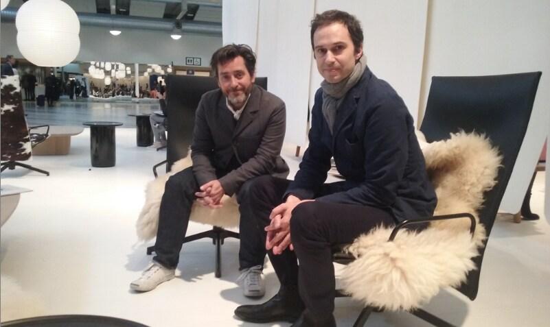 Edward Barber & Jay Osgerby alla Stockholm Furniture & Light Fair
