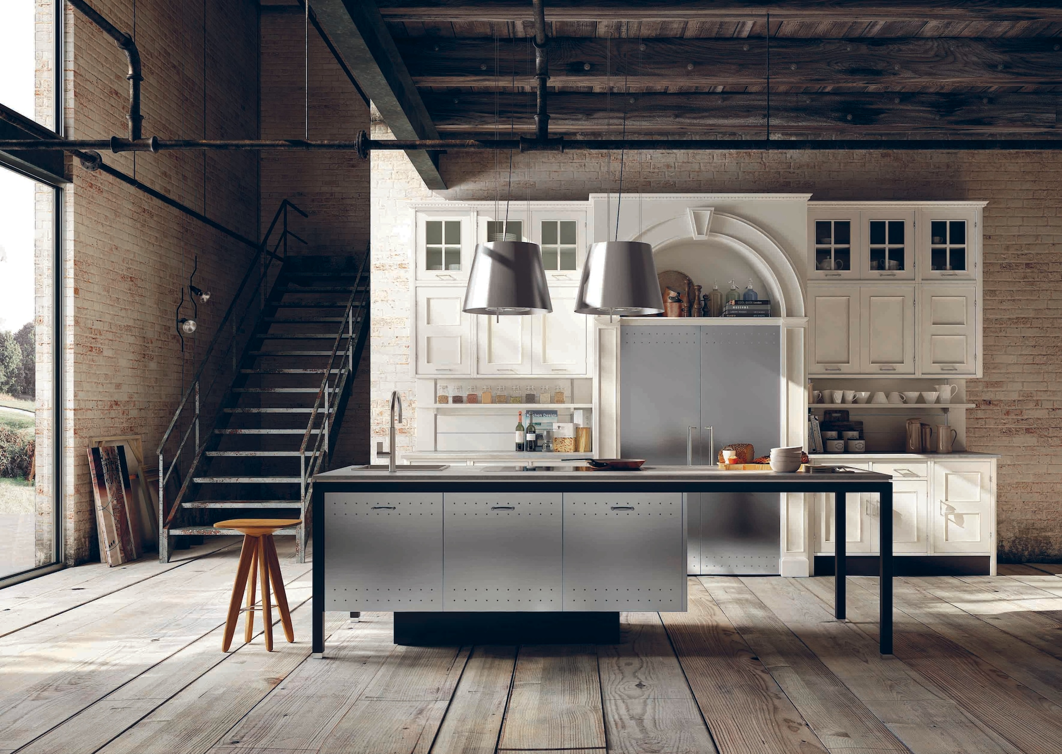 40 anni di cucine interni magazine - Marche cucine moderne ...