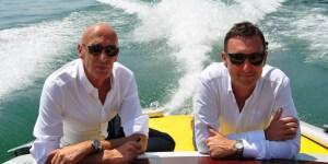 Mauro Micheli e Sergio Beretta, fondatori dellostudio di progettazione Officina Italiana Design