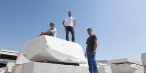 I tre finalisti: Kim De Ruysscher, Daniele Guidugli, Mat Chivers.