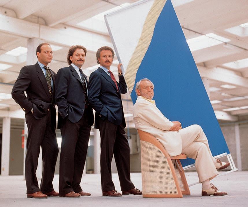 In principo fu il design interni magazine for Piero ambrogio busnelli