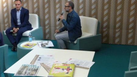 Emilio Mussini, a sinistra, e Diego Grandi