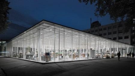 Bsi swiss architectural award 2016 interni magazine for Architetto giapponese