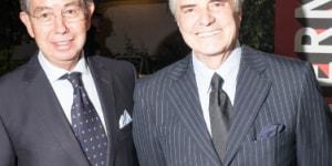 Sergio Contreras (Vicepresidente de Asuntos Corporativos de Pirelli e Vicepresidente COMCE) e Marco Pariente (Studio Artemis)
