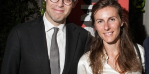 Alfonso Miranda (Direttore Museo Soumaya) e Francesca Conti Nesi (Ricercatrice Museo Spumaya)