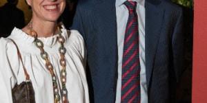 Domenico Sgaramella (Direttore sede di Città del Messico di Ferrero Messico) e signora
