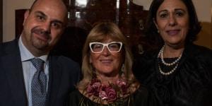 Gianluca Brocca (Direttore Generale Ornella Molon Messico), Gilda Bojardi (Direttore di Interni) e Cesarina Guglielmina Galanti (Ita Messico)