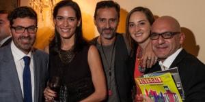 Giuseppe Manenti (Direttore Ita Messico), Rosalba Rojas (Studio Javier Sordo Madaleno), Fabio Novembre (architetto) e Pier Moro (Art Studio House)