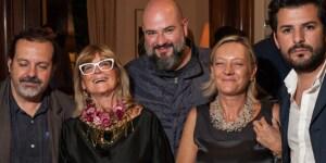 Mauricio Rocha (architetto - Taller de Arquitectura), Gilda Bojardi, Ricardo Casas (architetto - RCD), Antonella Boisi (giornalista di Interni)