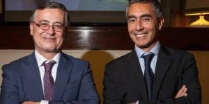Riccardo Cannelli (direttore aggiunto dell'Istituto Italiano di Cultura) e Marco Marica (direttore Istituto Italiano di Cultura)