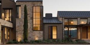 Geyserville Residence, Alexander Valley, Sonoma county, California. Progetto: Moller Architecture. Sistema: OS2 acciaio zincato patinato nero