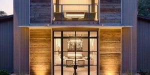 Comfort in campagna, Napa valley, Sonoma county, California. Progetto: Backen Gillam Kroeger Architects. Sistema: OS2 acciaio zincato verniciato