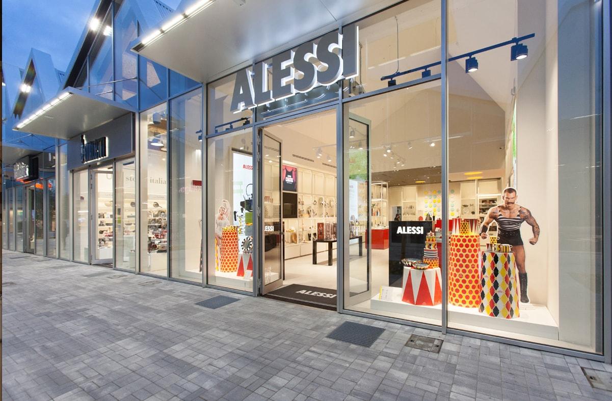 Alessi store scalo milano interni magazine for Alessi outlet