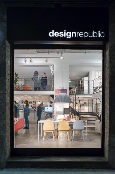 Il primo brand space muuto da design republic a milano for Design republic milano