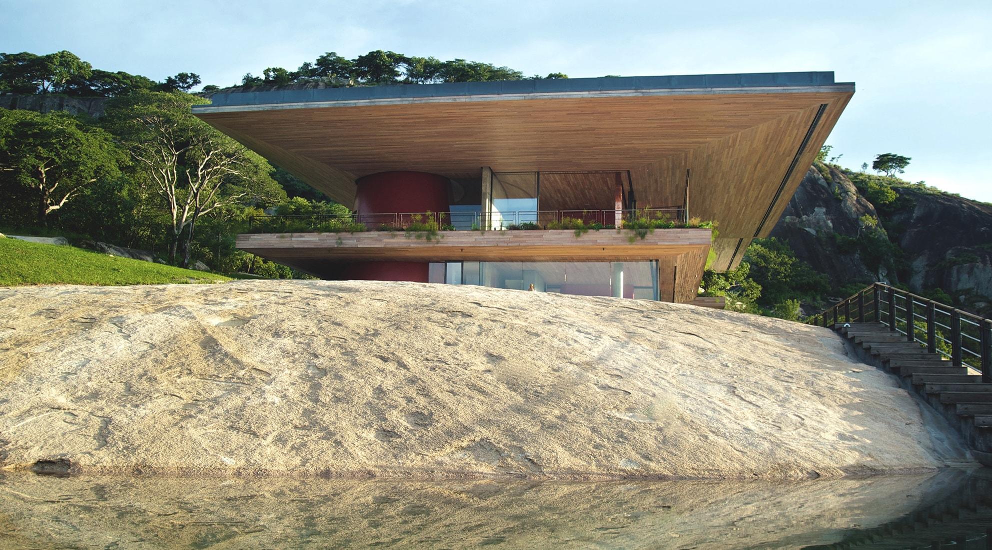 La casa sulla roccia interni magazine for Schierandosi dalla roccia in casa