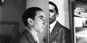 Duplice ritratto di Ico Parisi, Cernobbio, 1953. Courtesy Archivio del Design di Ico Parisi, Como