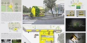 Un progetto degli studenti del Politecnico di Milano, che con lo IED ha contribuito all'iniziativa