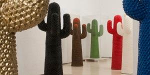 01_Franco-Mello-Guido Drocco-Cactus-1972-Gufram-Italia-Allestimento -alla-Fondazione-Plart-2017-ph-Fabio-Donato