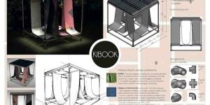 Menzione speciale per Kibox degli studenti del corso design 3 dell'Accademia di Belle Arti di Verona.