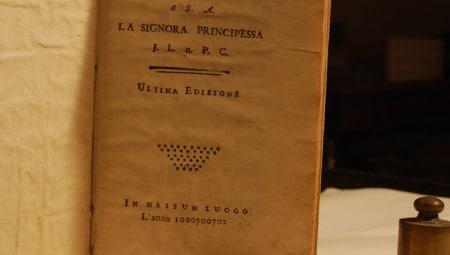 Lana caprina. Epistola di un licantropo indiritta a S.A. la signora principessa J.L. n. P.C. scritto da Giacomo Casanova nel 1772 (Drogheria 28 Libreria Antiquaria)