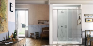 Cabina doccia con anta scorrrevole Gliss