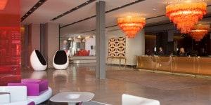 Lobby dell'Hotel nhow Milano