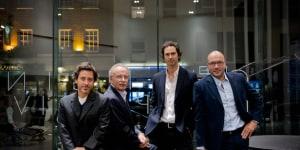 Giorgio Busnelli e Massimiliano Busnelli con Edward Barber & Jay Osgerby
